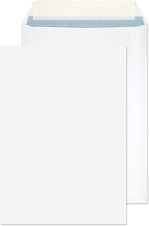 Blake Purely Everyday 23893/50 PR) - Sobres (229 x 162 mm, 100 g/m², 50 unidades), color blanco
