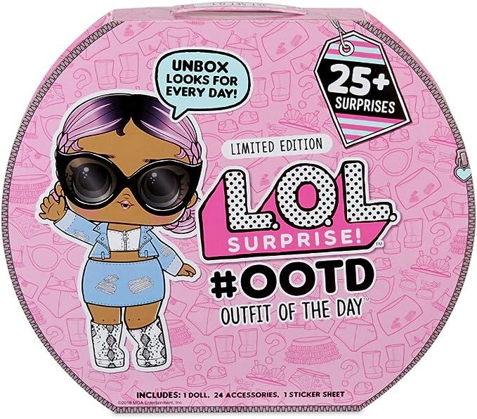 Amazon.es: L.O.L Surprise - Outfit Of The Day y Muñeca Exclusiva (Giochi Preziosi LLU47000): Juguetes y juegos