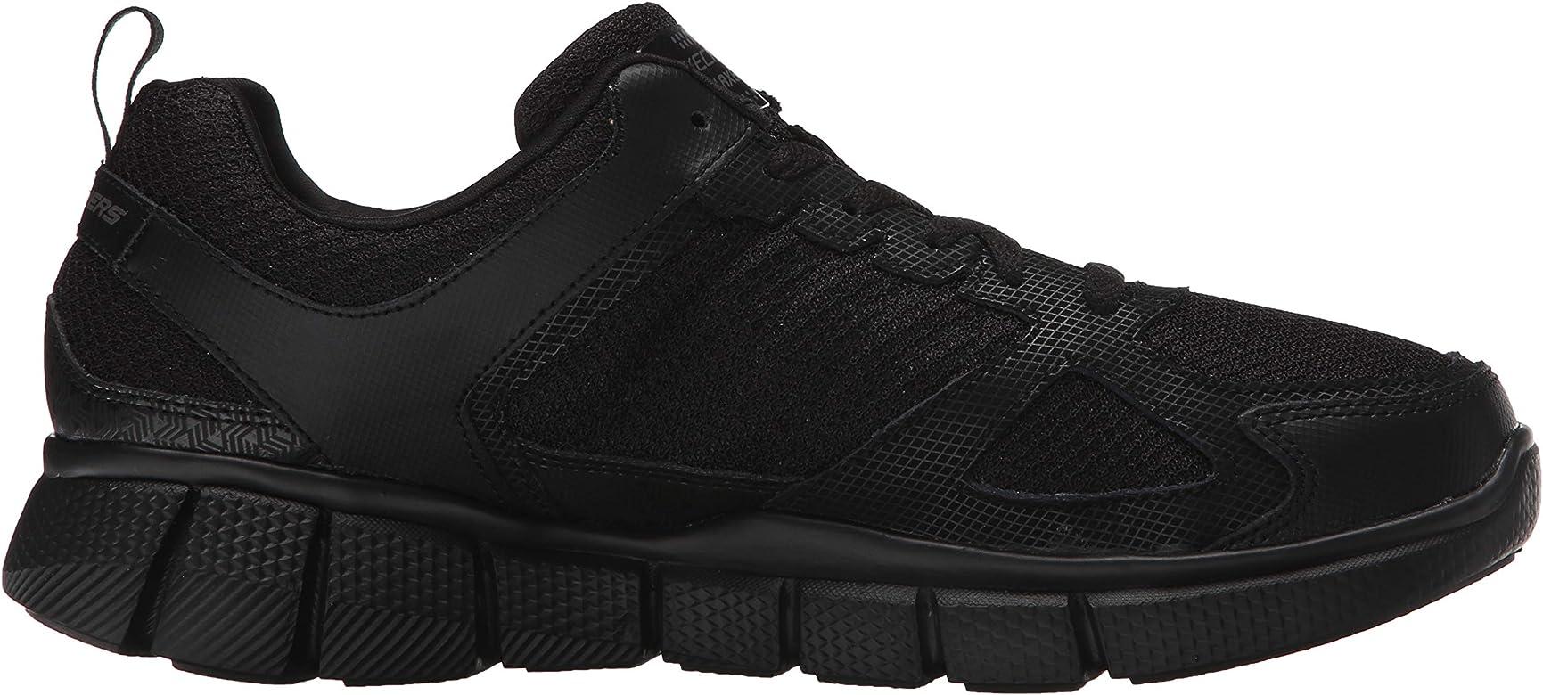 Skechers Men's Equalizer 2.0 True Balance Sneaker Black