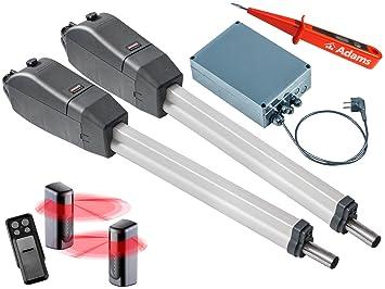 Verano Twist 350 deriva Motores de puertas de 2 flüglig + 1 unidades de 4 Set emisor manual Slider + + Barreras de luz 7029 Juego 4 in1i: Amazon.es: ...