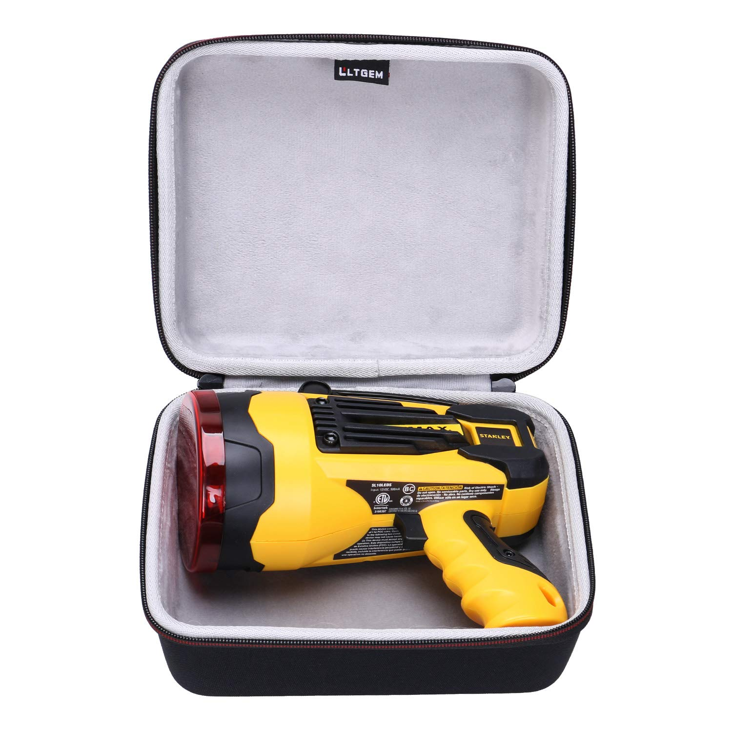 LTGEM EVA Hard Case for Stanley FATMAX SL10LEDS Rechargeable 2,200 Lumen LED Lithium Ion Spotlight (Not Included The Spotlight)
