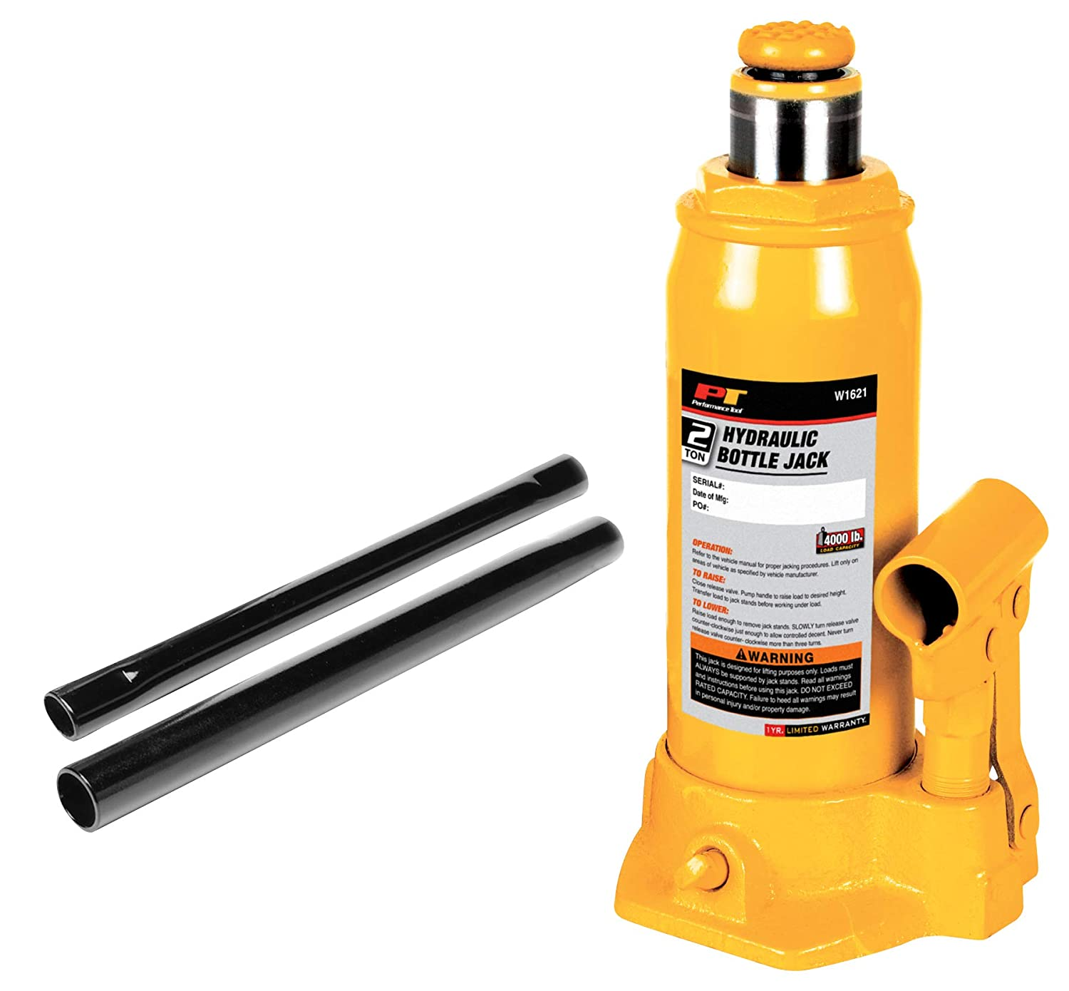 Wilmar W1632 12 Ton Hydraulic Bottle Jack