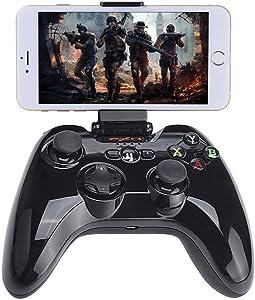Wireless BT Controller Compatible with Fotnite, Megadream iOS Games Gamepad MFi Joystick Compatible with iPhone Xs XR X 8 8Plus 7 7Plus 6S 6 5S, iPad Air 2, iPad Mini 4, iPad Pro, APPL TV w/Phone HOL