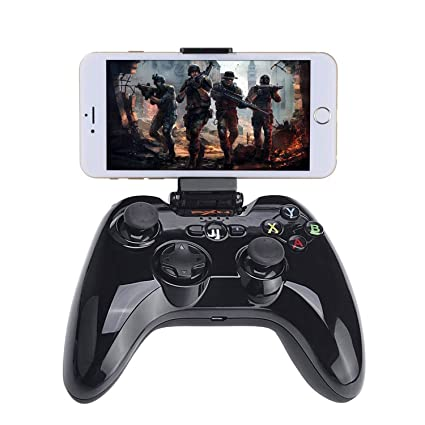 Wireless BT Controller Compatible with Fotnite, Megadream iOS Games Gamepad  MFi Joystick Compatible with iPhone Xs XR X 8 8Plus 7 7Plus 6S 6 5S, iPad