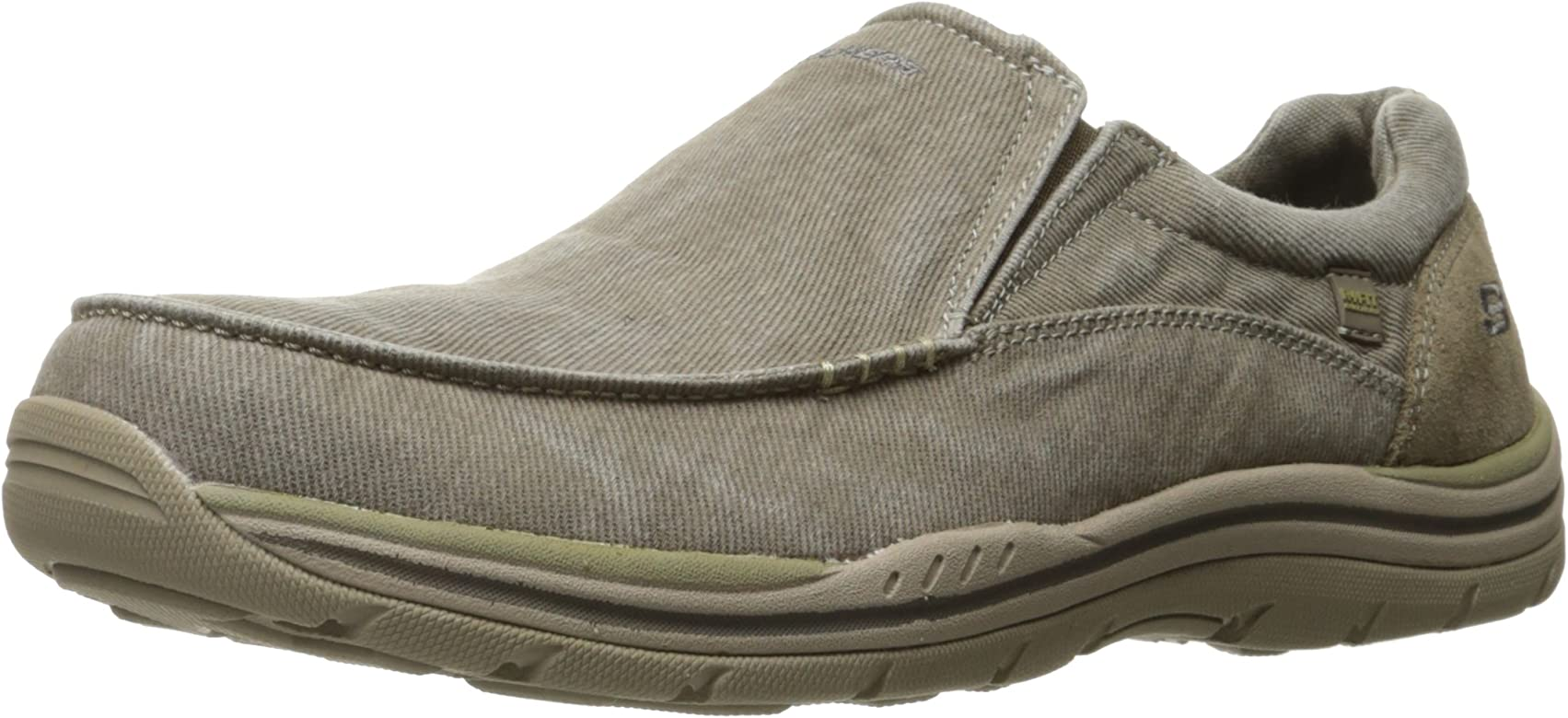 Amazon.com | Skechers USA Men's Expected Avillo Relaxed-Fit Slip ...