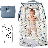 DaMohony - Tumbona portátil para bebé, supersuave