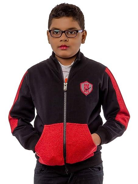 e79bea2c6 BOB Kids Winter wear Sweatshirt Jacket for 4-5 Years Boys.: Amazon.in:  Clothing & Accessories