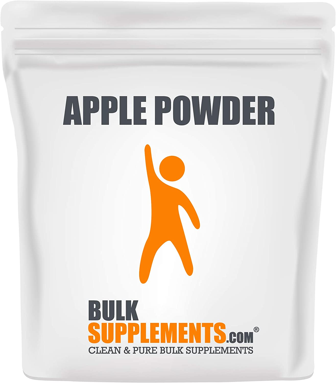 BulkSupplements.com Apple Powder - Fiber Powder - Soluble Fiber Supplements - Dietary Fiber - Natural Fiber Supplement - Fruit Powder (100 Grams)