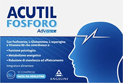 Integratore per memoria - acutil fosforo advance - 50 compresse da 250 mg ACU0100001/2