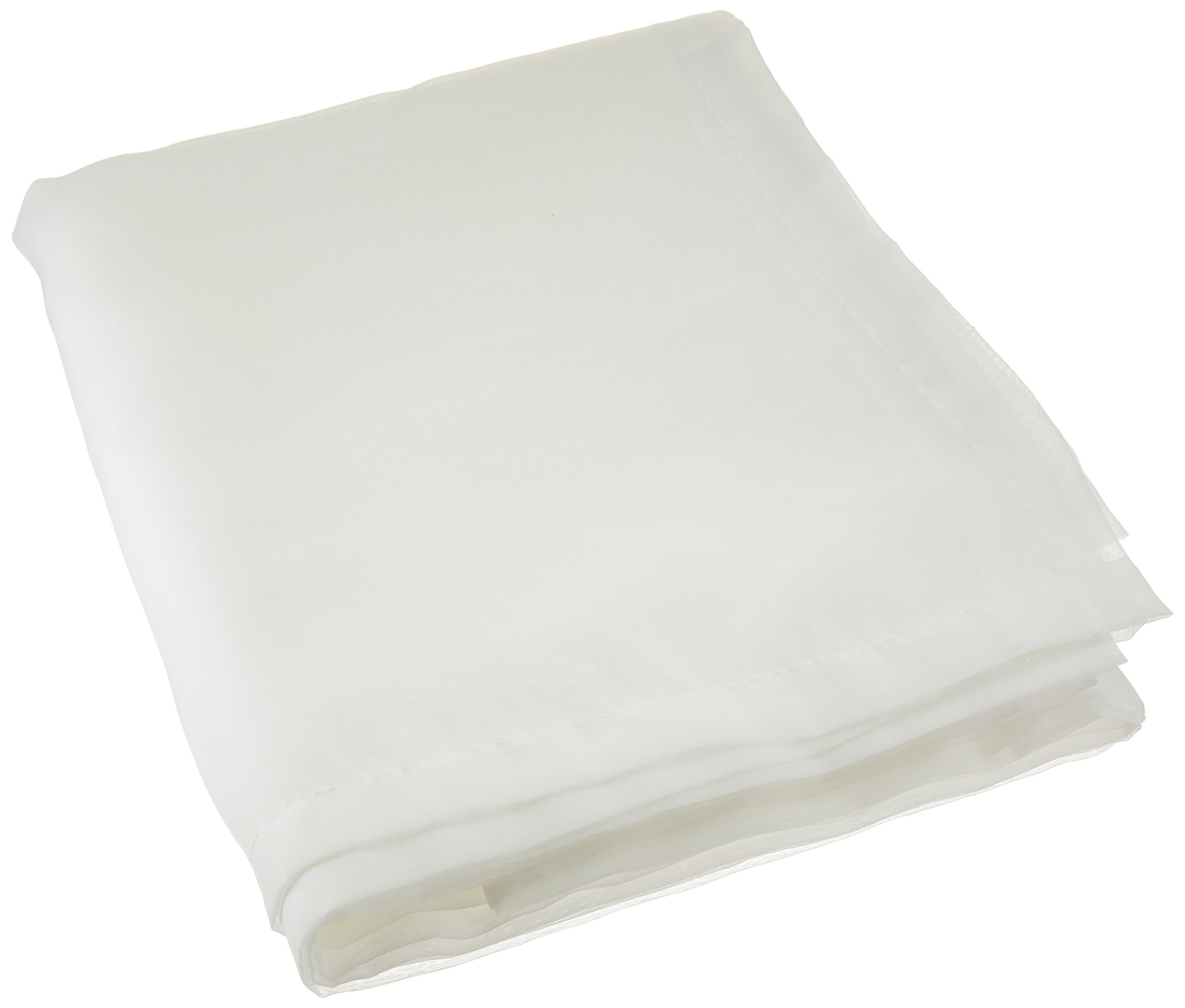 Royale Home Canopy Bed Scarf, White Sheer