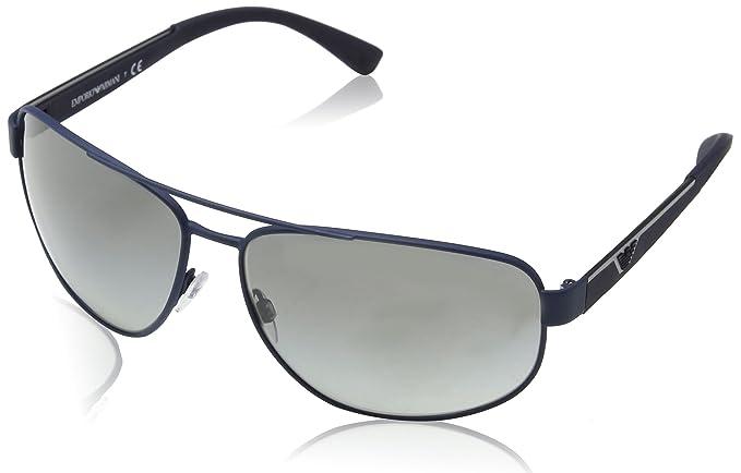 9e5b5056ab Emporio Armani Ea2036-318811-64 Gafas de sol, Azul (Dark Blue Rubber), 64.0  Unisex-Adulto: Amazon.es: Ropa y accesorios
