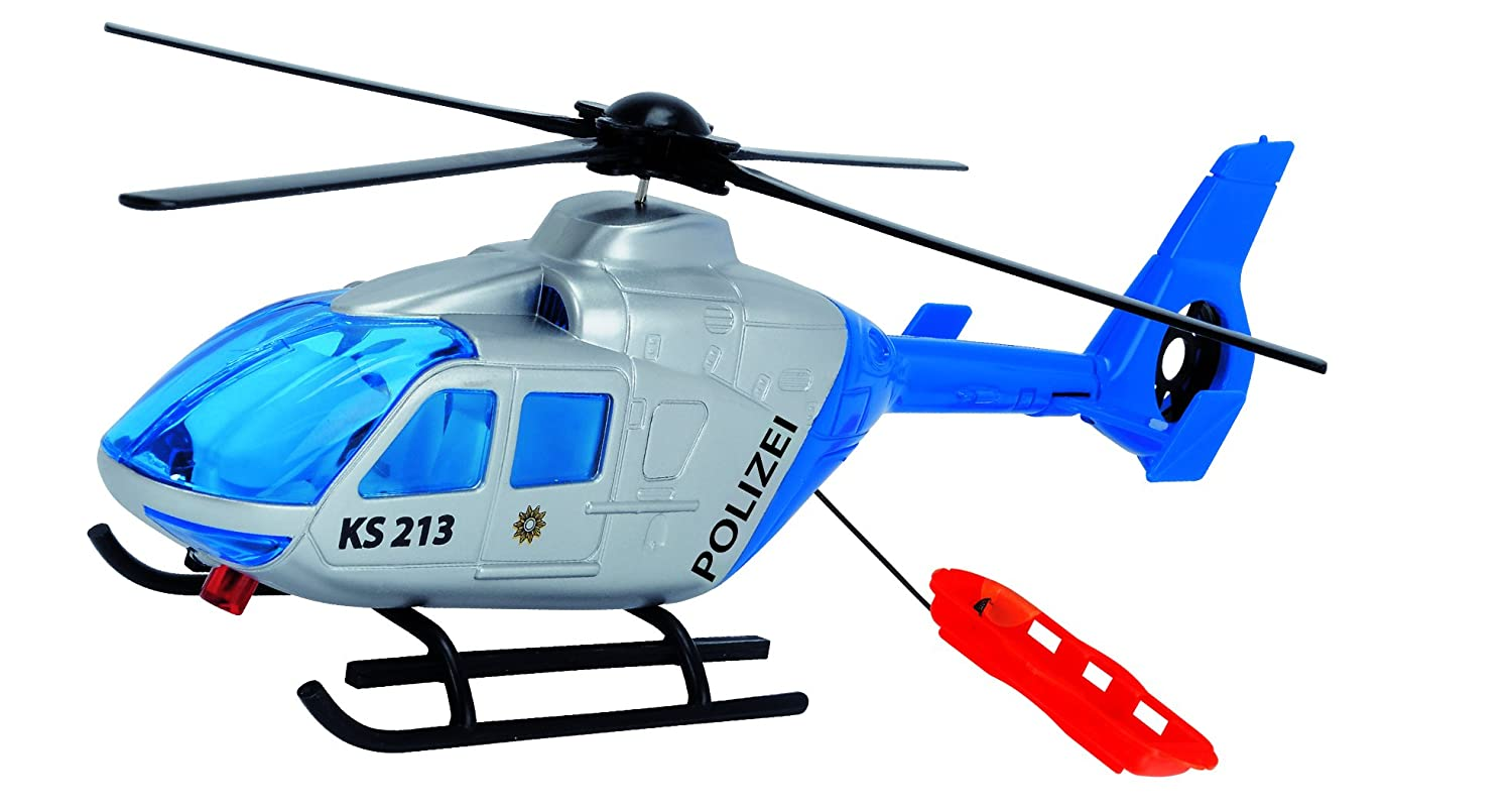 Dickie Toys Police Helicopter (Multi-Colour) 203714001