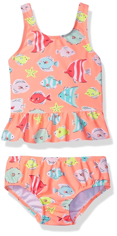 Carters Baby Girls Fish Tankini Swimsuit Set