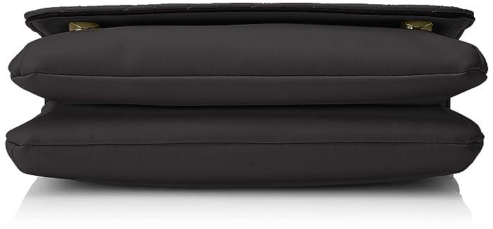 41348e1f15 Guess Elliana Cnvrtble Xbody Flap, femme, Noir (Black), 27x18x7 cm (W x H  L): Amazon.fr: Chaussures et Sacs