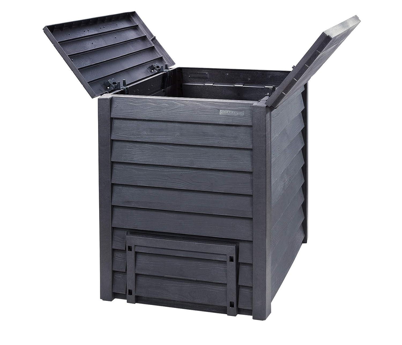 Thermo-Wood - Compostador (600 L, incluye rejilla), color ...