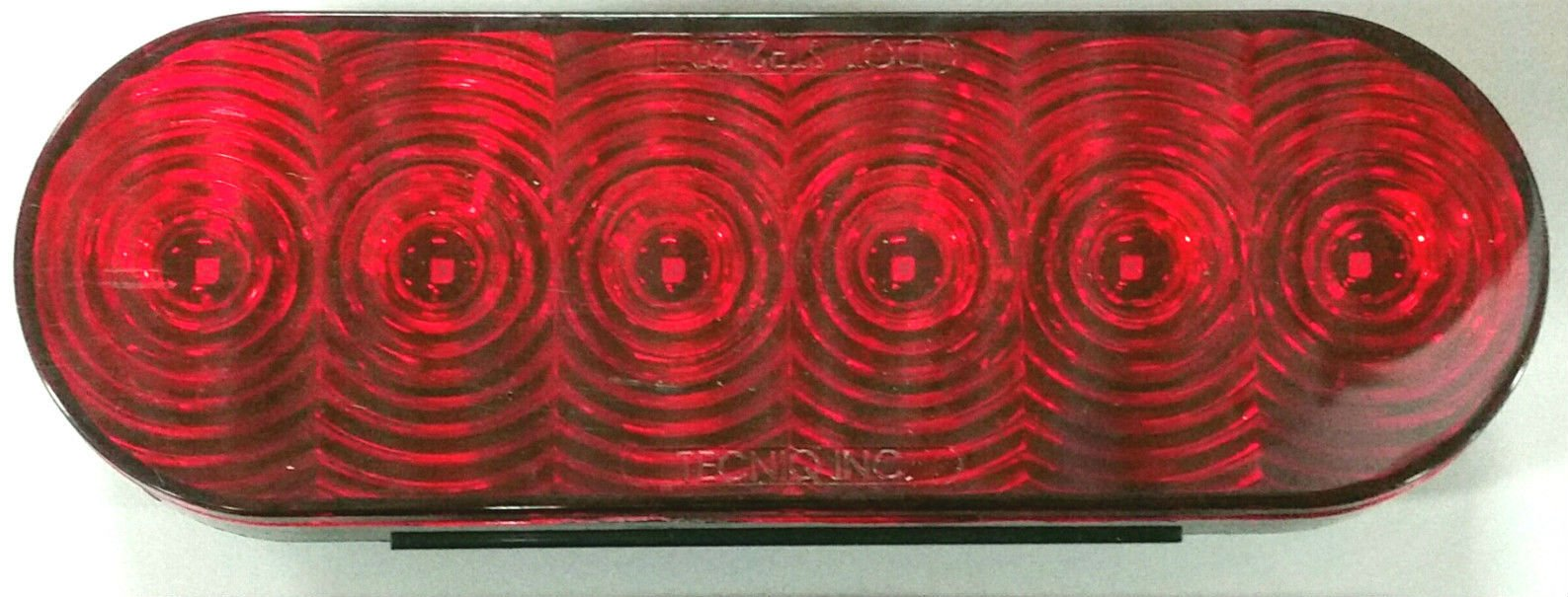 Triton 08478 Red LED Oval Tail Light