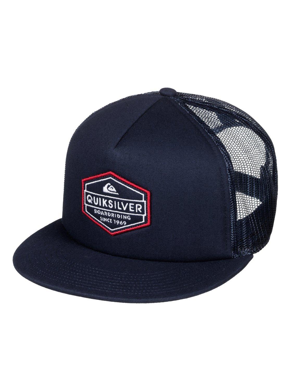 Quiksilver Men's Marbleson Hat, Navy Blazer, One Size