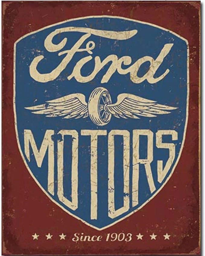 FORD CLASSIC metal SIGN used car vintage style PLAQUE show room wall decor 367