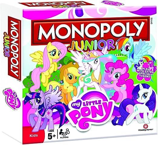 Winning Moves Monopoly 22736 - My Little Pony , de 2 a 4 Jugadores (versión en inglés): Amazon.es: Juguetes y juegos