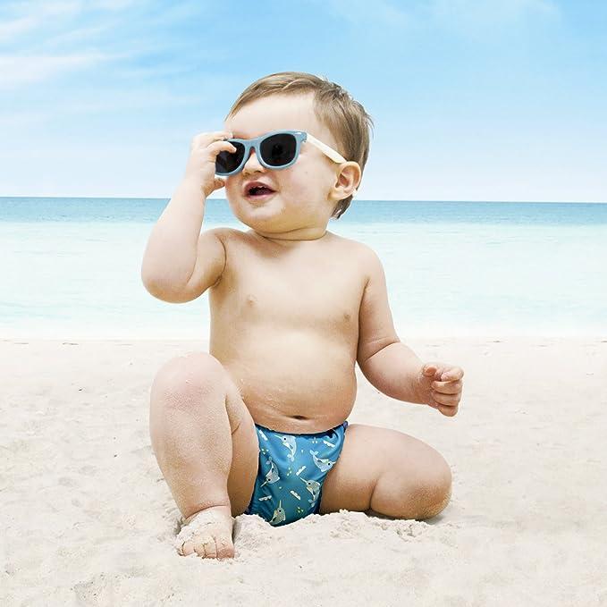 Bambino Mio, pañal bañador, pez espada, pequeño (0-6 meses ...