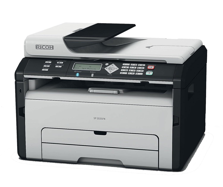 Ricoh Aficio SP204SN Stampante Multifunzione Laser Bianco e Nero RICVZ Aficio SP204SN MFPB copia scansione