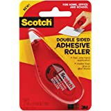 Scotch Double Sided Adhesive Roller, .27 Inches x 26 Feet (6061) 2 PACK