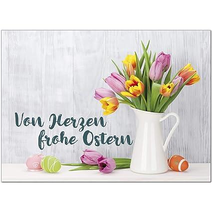 15 x Postkarten zu Ostern mit Umschlag Osterkarten Osterei Osterpostkarten