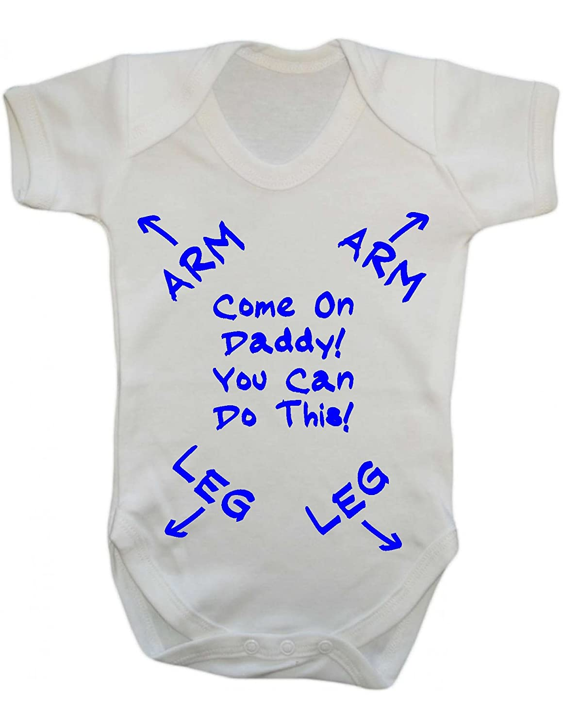 Personalised 1st Father/'s Day Baby Outfit,Grow,Bodysuit Unique Daddy NewbornGift