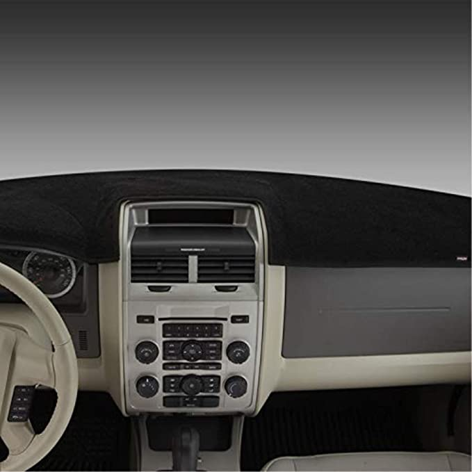 DashMat Original Dashboard Cover Nissan 1200 Premium Carpet, Red Covercraft 0455-00-73