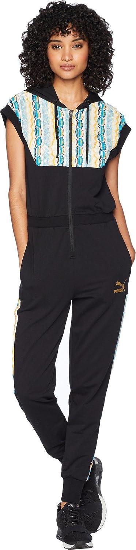 0a8c6f31258a Puma Women s x Coogi Romper Black Large  Amazon.co.uk  Clothing