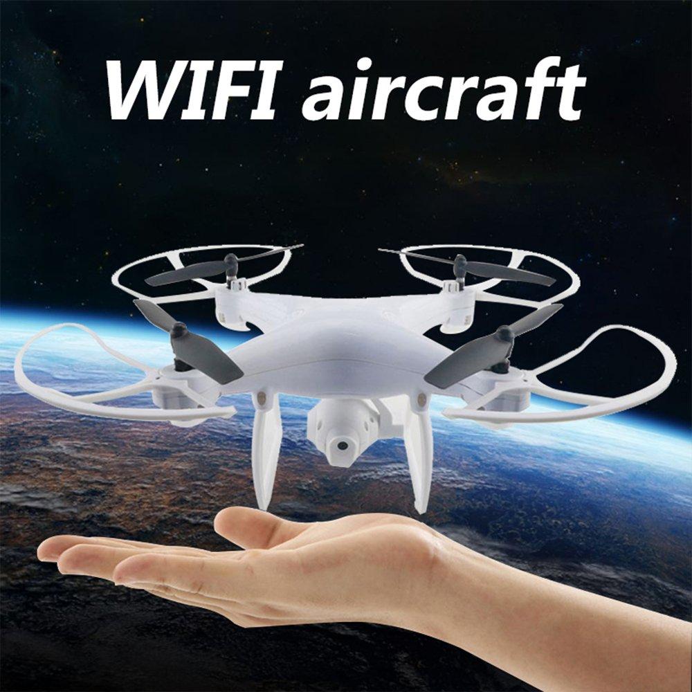 Hanbaili Drone con control remoto, ángulo de la cámara, transmisión de video en tiempo real, barómetro incorporado, sistema de aire alto, mantener el cielo, dron, RC Quadrocopter, dron, para niños