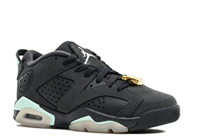 b449ce84a5b Image Unavailable. Image not available for. Color  Jordan 768878-015 Grade  School Air 6 Retro Low ...