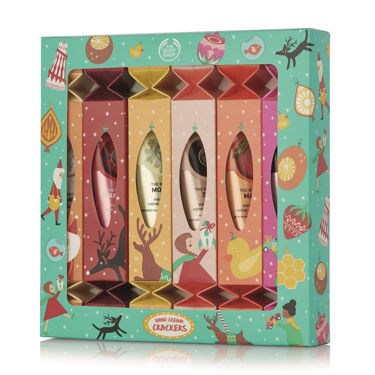 The Body Shop Hand Cream Gift Set  6 Individually-Packed Moisturizing Hand Creams  Ready To Gift
