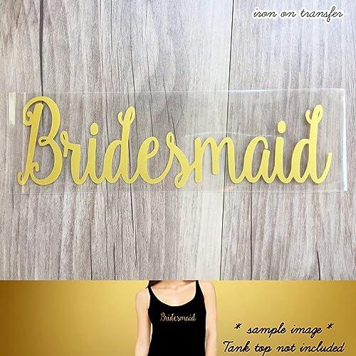 AUNTIE OF THE BRIDE Team Bride Iron On T-shirts Transfer Vinyl Wedding Party Bridesmaid Bride Murrielle Bride Squad Hen Do Party Vinyl Silver