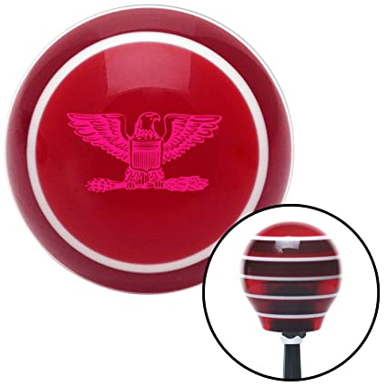 American Shifter 299821 Shift Knob Pink VW Cog 1939 Orange Flame Metal Flake with M16 x 1.5 Insert