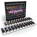 Castle Art Supplies, set di 24 colori a olio per artisti e principianti