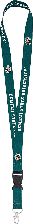 Bemidji State University BSU Beavers NCAA Car Keys ID Badge Holder Lanyard Keychain Detachable Breakaway Snap Buckle