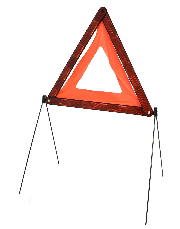 Faltbares Notfall-Warndreieck nach europ/äischem Standard ECE R27 reflektierend Unfall-Schild