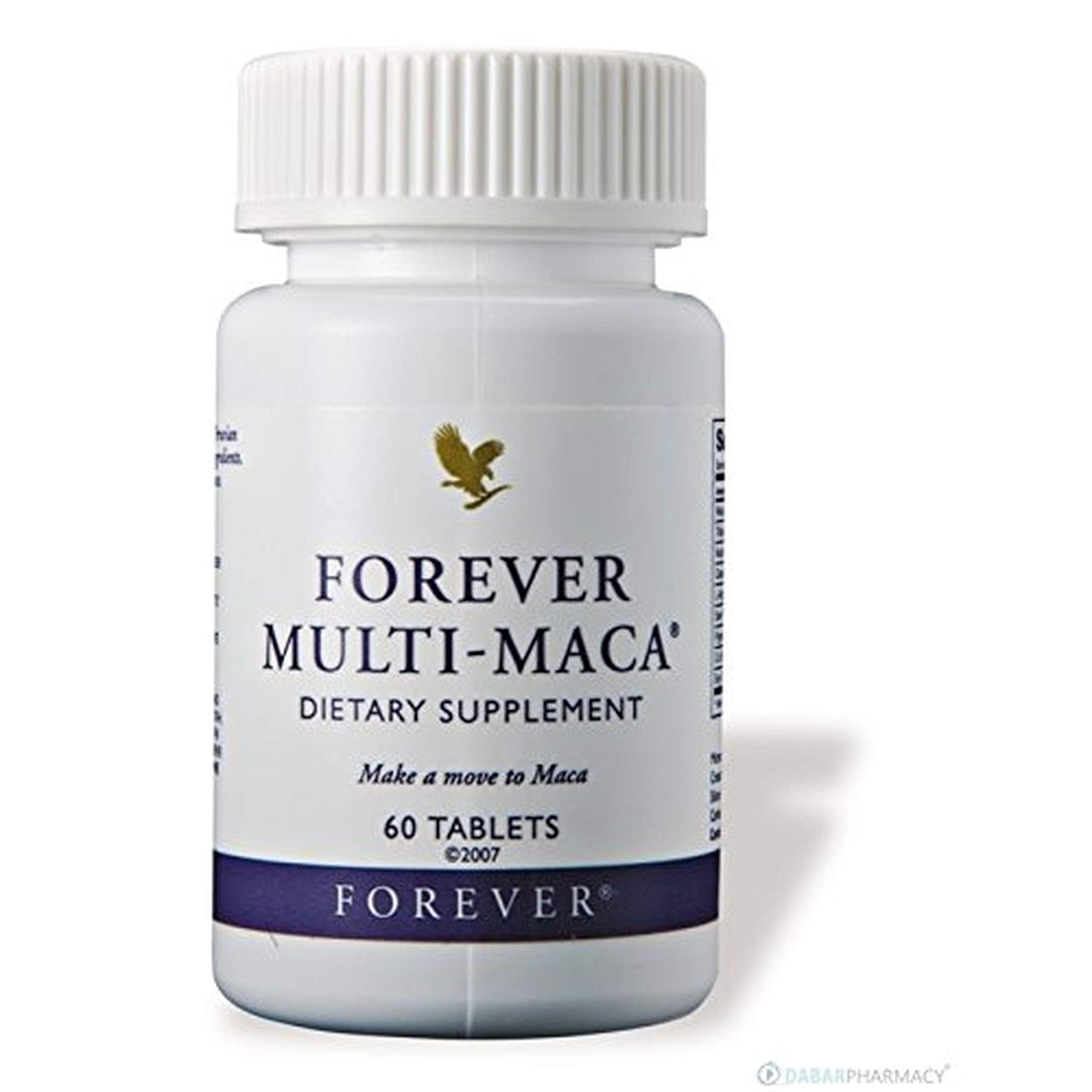 Forever Multi-Maca Dietary Supplement (60 Tablets)