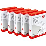 5 Star Office Value Copier Paper Multifunctional Ream-Wrapped 75gsm A4 White - 1 box containing 5 Reams of 500 sheets