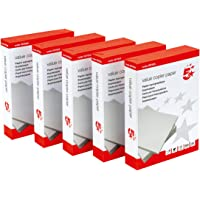 5 Star 397921 Office Value Copier Paper Multifunctional Ream-Wrapped 75gsm A4 White - 1 box containing 5 Reams of 500 sheets