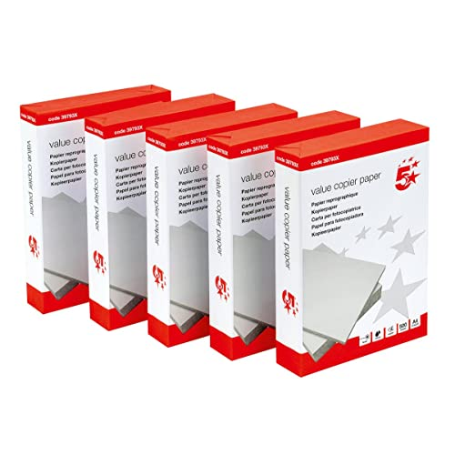 Amazing 5 Star 397921 Office Value Copier Paper Multifunctional Ream Wrapped 75gsm  A4 White   1