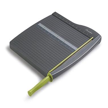 Swingline Paper Trimmer/Cutter, Guillotine, 12  Cut Length, 10 Sheets Capacity, ClassicCut Lite (9312)
