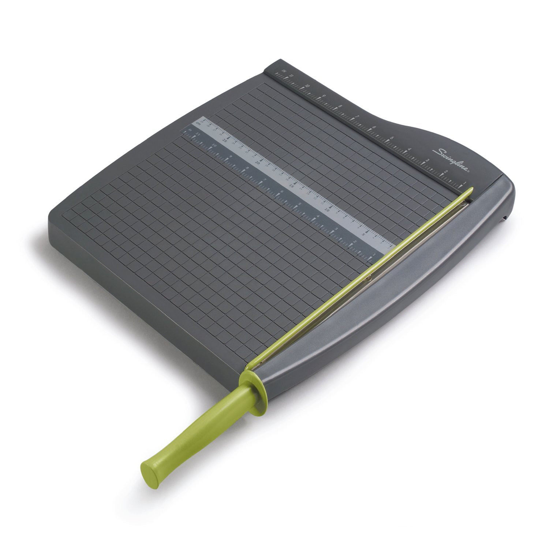 Swingline Paper Trimmer/Cutter, Guillotine, 12'' Cut Length, 10 Sheets Capacity, ClassicCut Lite (9312)