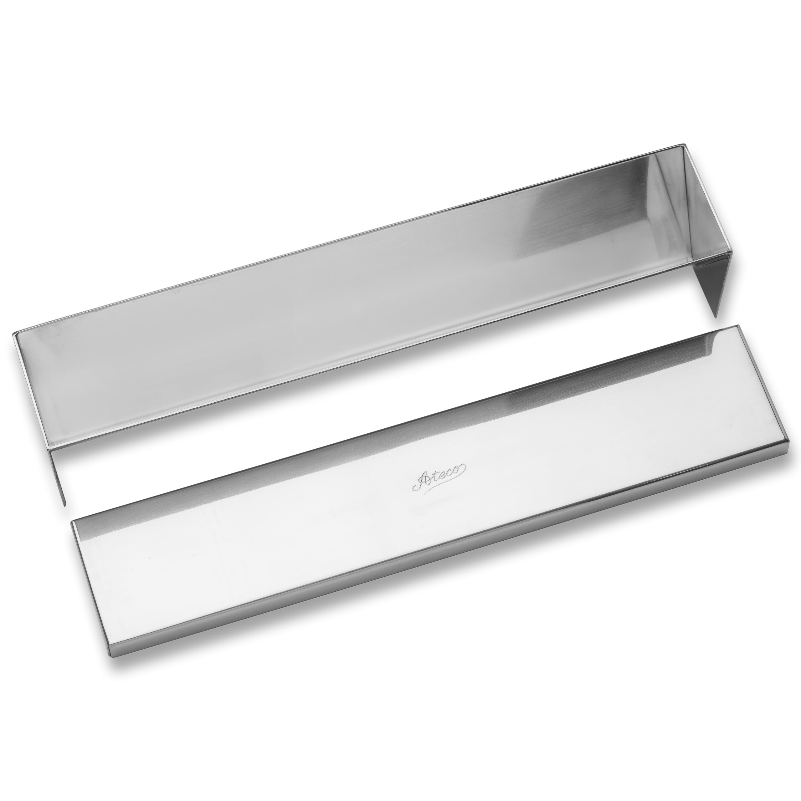 Ateco 4922 Stainless Steel Terrine Mold with Cover, Cone Shaped Bottom, 11.75 by 2.25-Inches