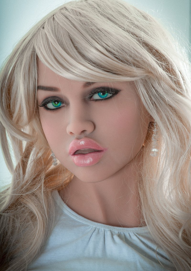 AILIJIA Oral Sex Doll Heads with m16 Connector Male Doll Mold for Big Size Love Dolls 135cm-176cm Sex Toy Doll(Head Only) (Head 1)