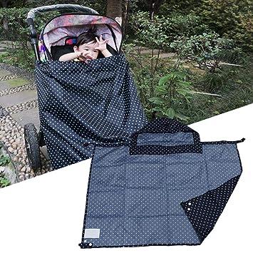 Cochecito de bebé universal Cubierta de lluvia Impermeable ...