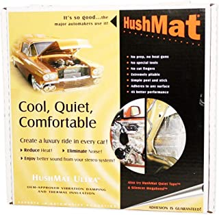"""product image for Brand New Hushmat Door Kit with 10 Black Sheets 12""""x12"""" (10 Square Feet)"""