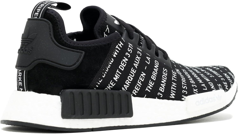 Adidas NMD_R1 Noirblanc Black White, 43 13 EU EU