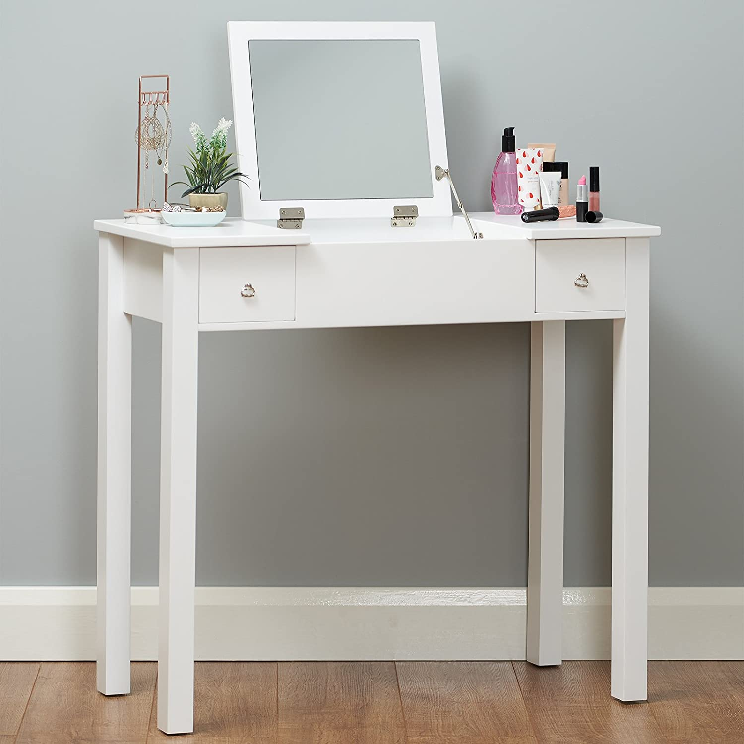 Roost White Dressing Table